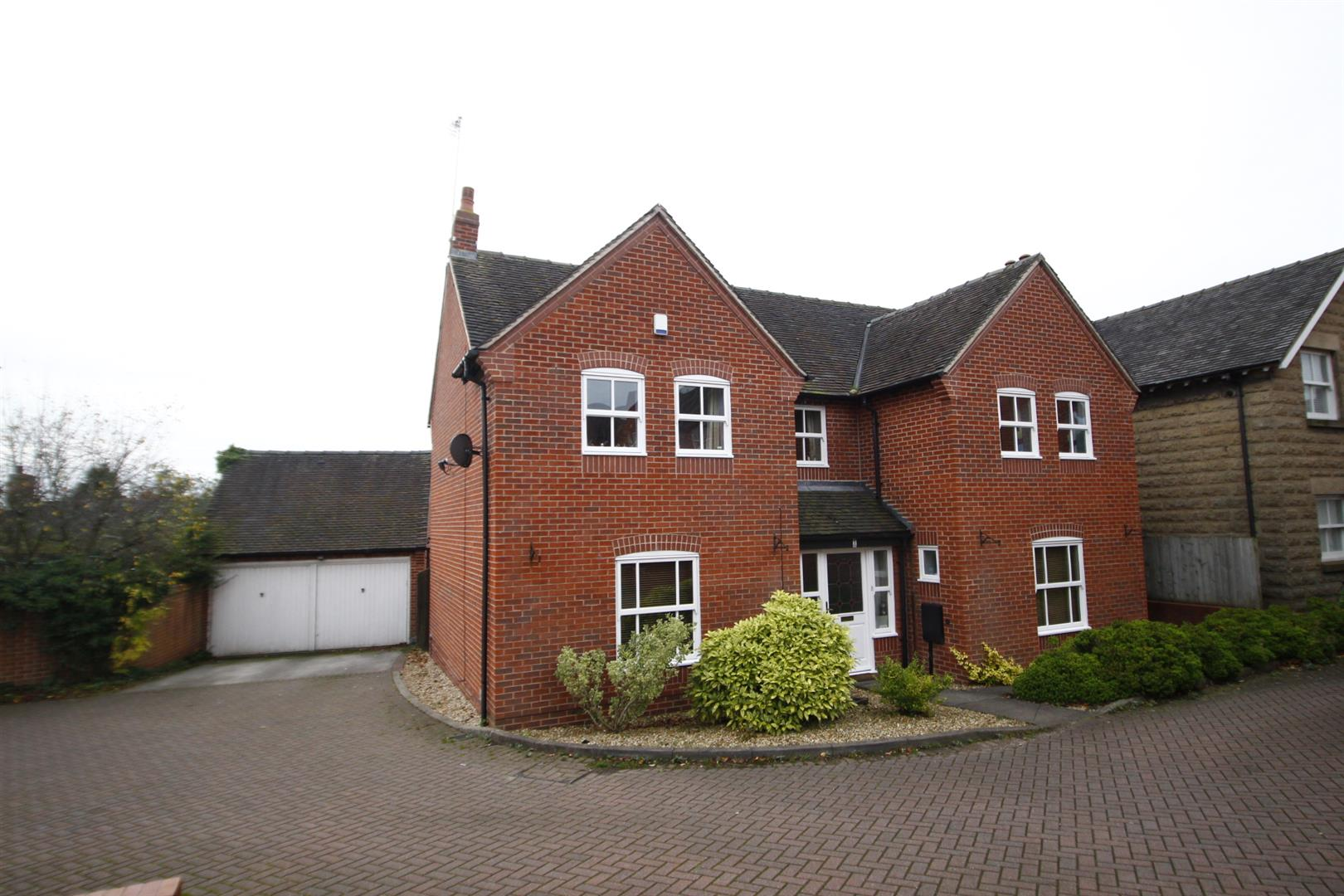 4 Bedrooms Detached House for sale in Sundial Close, Brailsford, Ashbourne